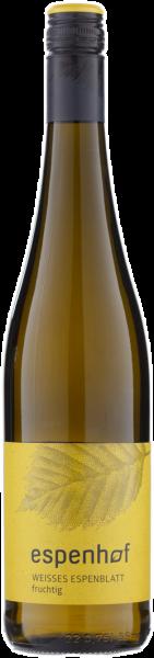 Espenhof Weißes Espenblatt fruchtig QbA Rheinhessen Weißwein