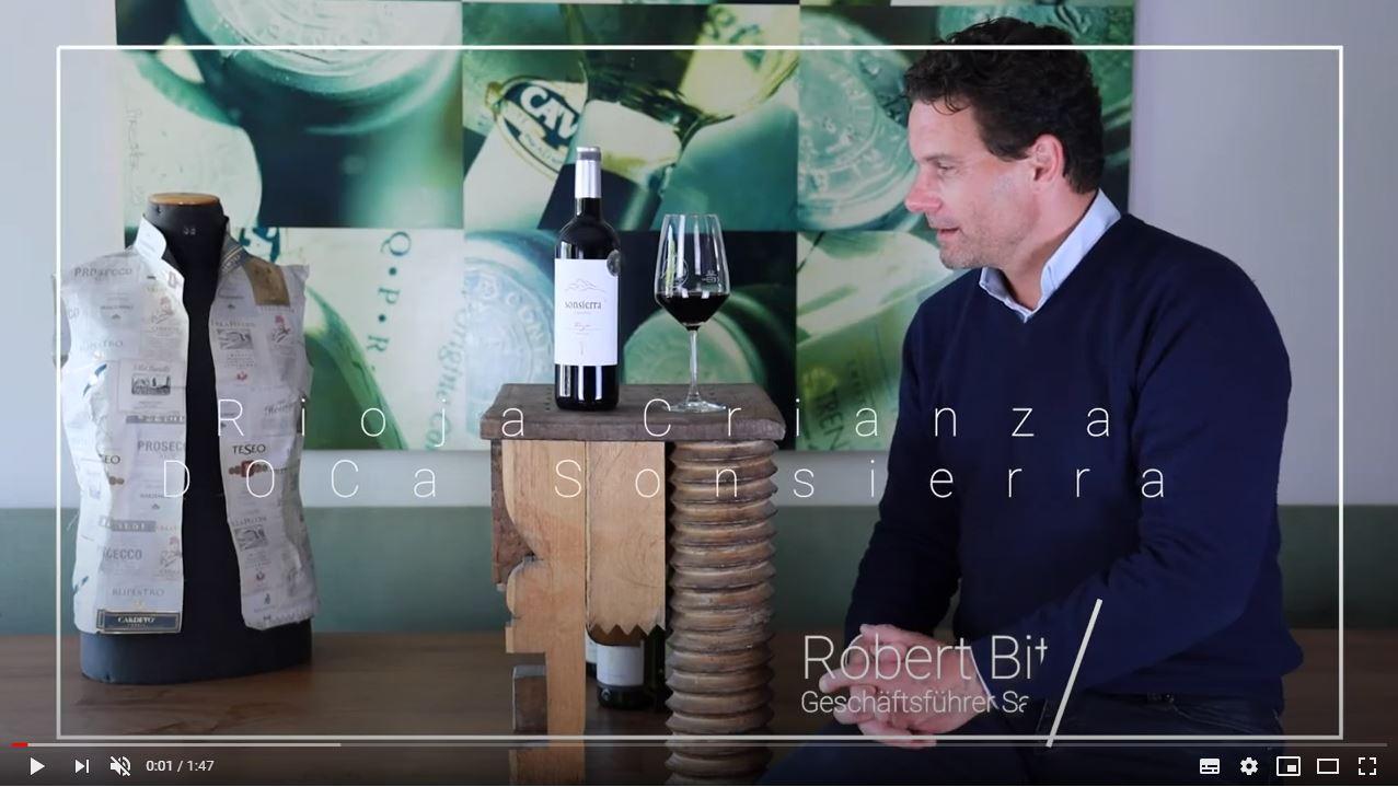 Rioja Crianza DOCa Sonsierra Rotwein trocken