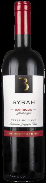 Syrah Barrique - affinato in legno Terre Siciliane IGT Bertoldi Sizilien Rotwein trocken