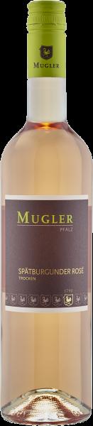 Spätburgunder Rosé QbA trocken Mugler Pfalz Roséwein