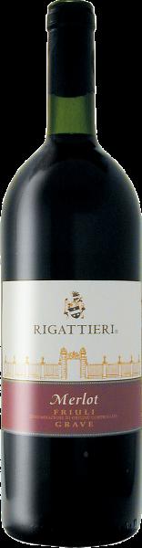 Merlot Grave Friuli DOC 1,0l Rigattieri Friaul Rotwein trocken
