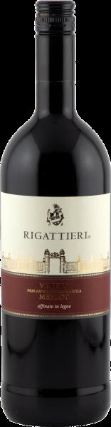 Merlot Veneto IGT affin. in legno Rigattieri 1,0 Rotwein trocken