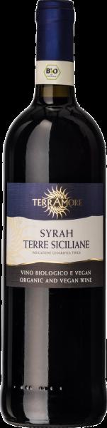 Bio-Syrah Terre Siciliane IGT TerrAmore Sizilien Rotwein trocken | Saffer's WinzerWelt