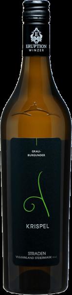 Grauburgunder Straden Vulkanland Steiermark DAC Krispel Weißwein trocken