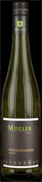 Mugler Weißburgunder trocken QbA Pfalz Weißwein