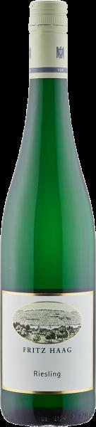 Haag Riesling feinherb QbA Mosel Weißwein halbtrocken