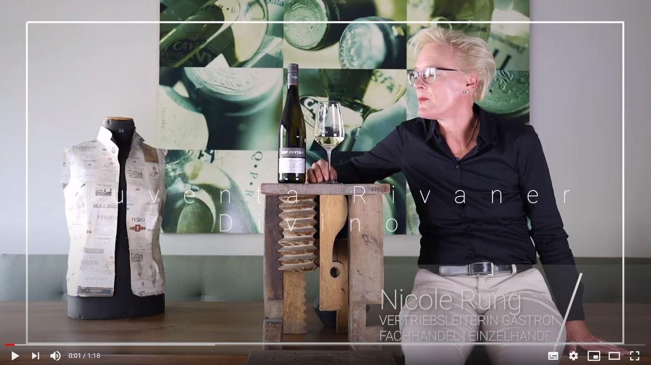 Juventa Rivaner QbA trocken Divino Nordheim Franken Weißwein