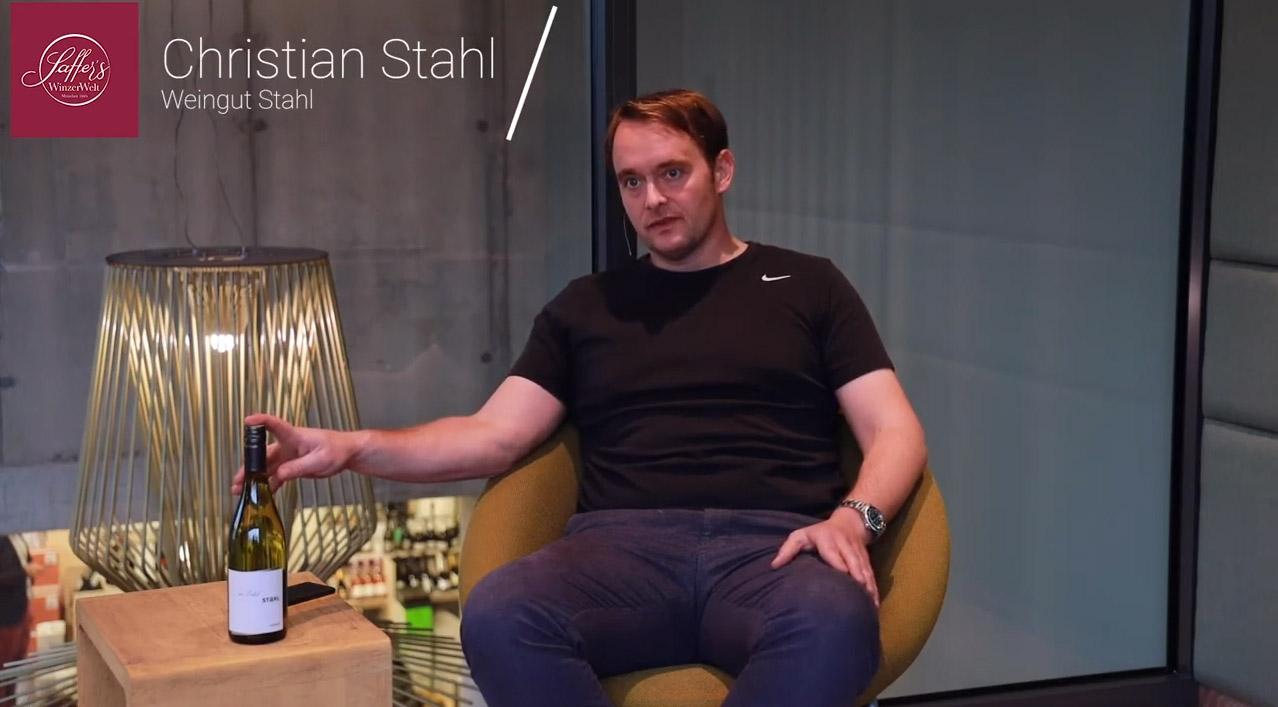 Stahl Edelstahl Silvaner trocken QbA Franken Weißwein