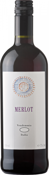 Merlot Vino Varietale d´Italia Caviro Corovin Emilia Romagna Rotwein halbtrocken
