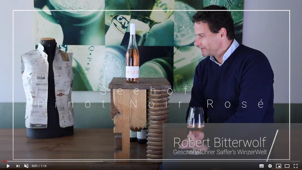 Seehof Pinot Noir Rosé QbA Rheinhessen Roséwein trocken