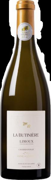 Anne de Joyeuse La Butinière Chardonnay AOP Limoux Languedoc-Roussillon Weißwein trocken