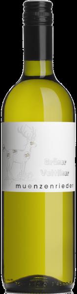 Grüner Veltliner QUW Münzenrieder Burgenland Weißwein trocken