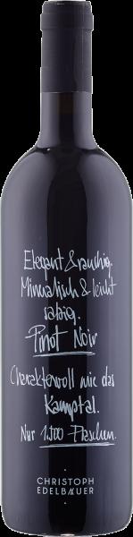 Edelbauer Pinot Noir QUW Bio Kamptal Rotwein trocken