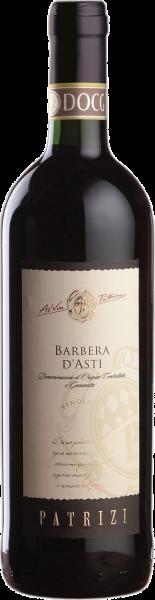 Barbera d´Asti DOCG Barrique Patrizi Piemont Rotwein trocken