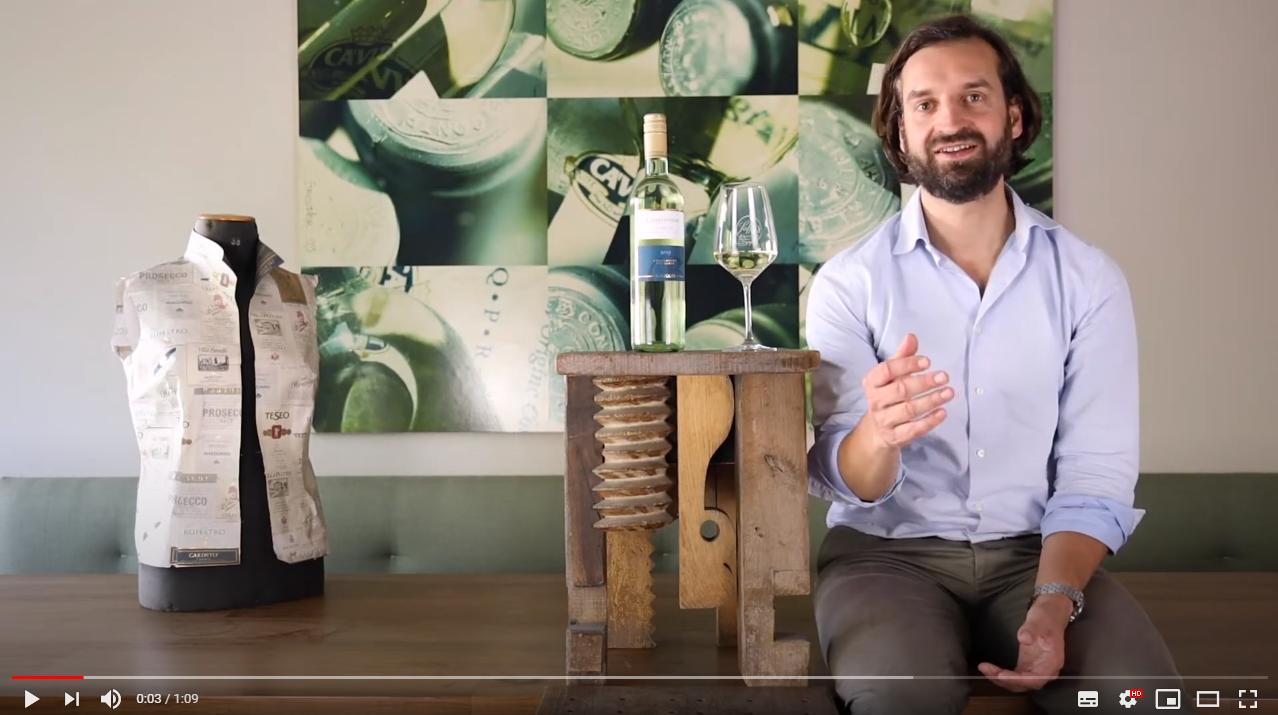 Chardonnay Garda DOC Bertoldi Venetien Weißwein trocken