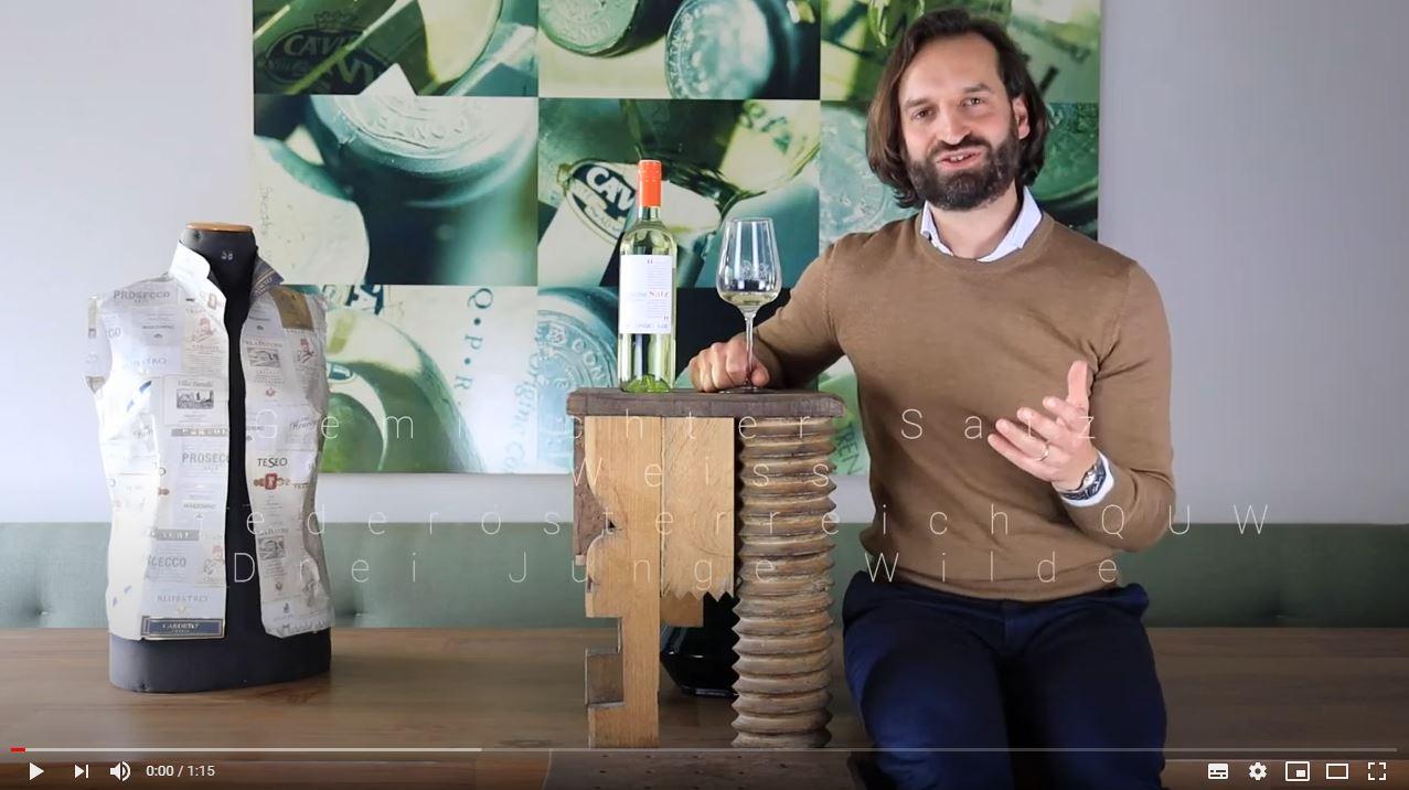 Gemischter Satz Weiss Niederösterreich QUW Drei Junge Wilde Weißwein trocken