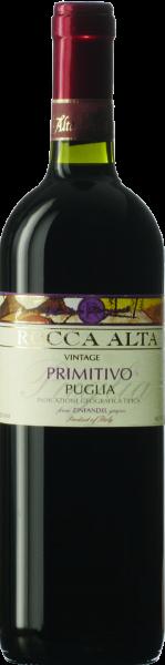 Primitivo Puglia IGT Rocca Alta Castellani Apulien Rotwein trocken   Saffer'S WinzerWelt