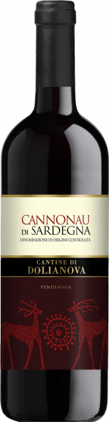 Cannonau di Sardegna DOC Dolianova Sardinien Rotwein trocken