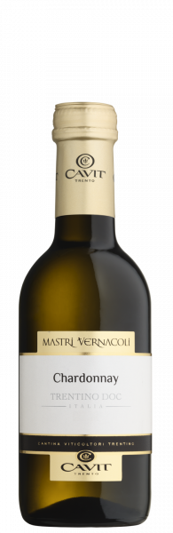 Chardonnay Trentino DOC Mastri Vernacoli 0,25l Cavit Trentin Weißwein trocken