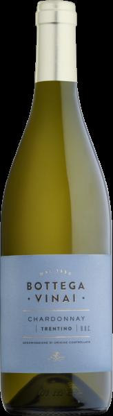 Chardonnay Trentino DOC Bottega Vinai Trentin Weißwein trocken