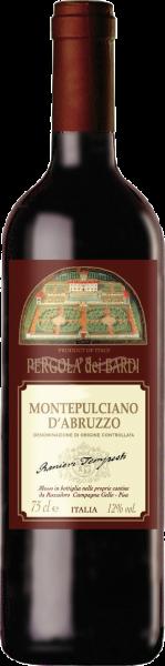 Montepulciano d´Abruzzo DOC Pergola dei Bardi Castellani Abruzzen Rotwein trocken