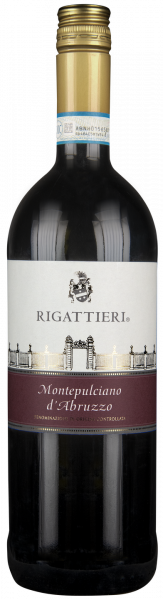 Montepulciano d´Abruzzo DOC 1,0l Rigattieri Abruzzen Rotwein trocken