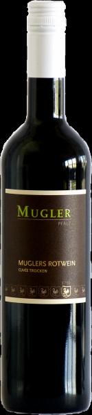 Muglers Rotwein trocken QbA