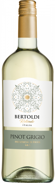 Pinot Grigio Provincia Pavia IGT Bertoldi Rotondo Magnum Weißwein trocken