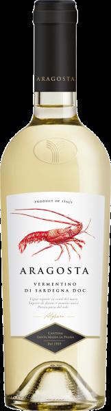 Vermentino di Sardegna DOC Aragosta Santa Maria La Palma Sardinien Weißwein trocken