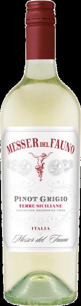 Pinot Grigio Terre Siciliane IGT Messer del Fauno Weißwein trocken | Saffer's WinzerWelt