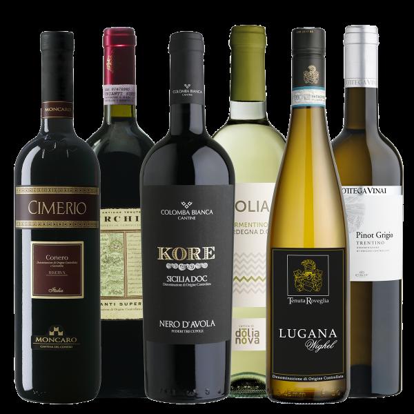 Probierpaket Weinreise Italien   Saffer's WinzerWelt