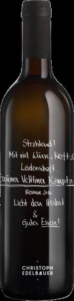 Grüner Veltliner Reserve Bio Edelbauer Kamptal DAC Weißwein trocken