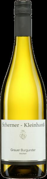 Grauer Burgunder QbA Scherner-Kleinhanß Rheinhessen Weißwein trocken