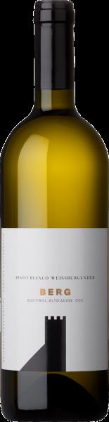 Weissburgunder Südtirol DOC Berg Schreckbichl Weißwein trocken | Saffer's WinerWelt