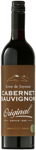 Cabernet Sauvignon Original IGP Anne de Joyeuse Languedoc-Roussillon Rotwein trocken | Saffer's WinzerWelt