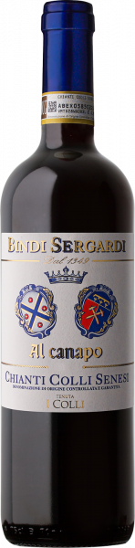 Chianti Colli Senesi DOCG Al Canapo Bindi Sergardi Toskana Rotwein trocken