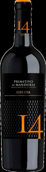 Primitivo di Manduria DOC 14 Riserva Contessa Marina Apulien Rotwein halbtrocken | Saffer's WinzerWelt