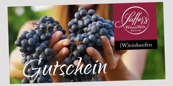 Gutschein Saffer´s WinzerWelt - 50, Euro | Saffer's WinzerWelt