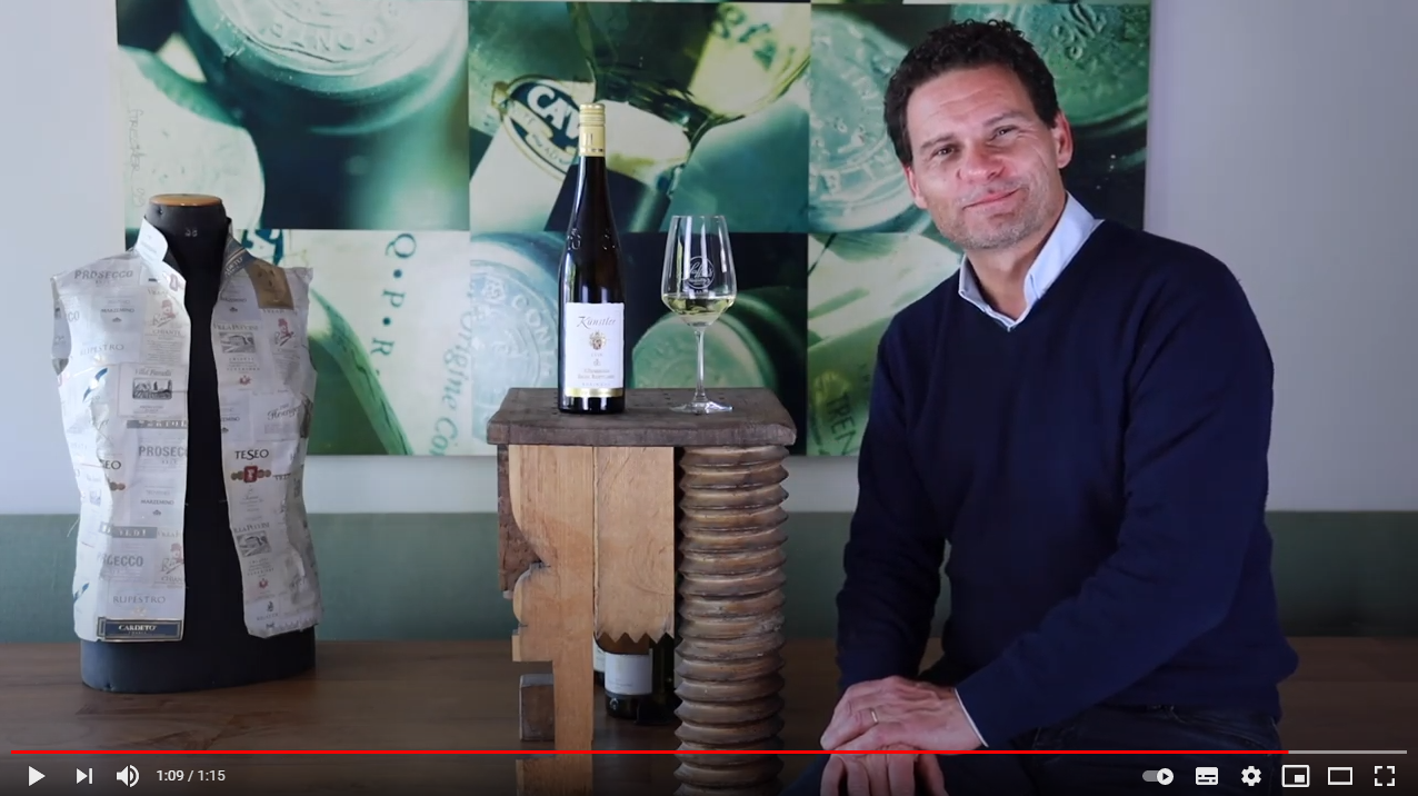 Künstler Rüdesheim Berg Rottland Riesling trocken Großes Gewächs QbA Rheingau Weißwein