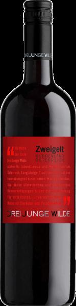 Zweigelt Burgenland QUW Drei Junge Wilde Rotwein trocken