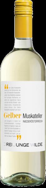 Gelber Muskateller Burgenland QUW Drei Junge Wilde Weißwein trocken