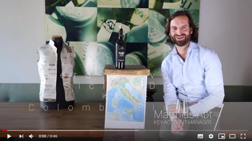 Nero d´Avola Sicilia DOC Kore Colomba Bianca Sizilien Rotwein trocken