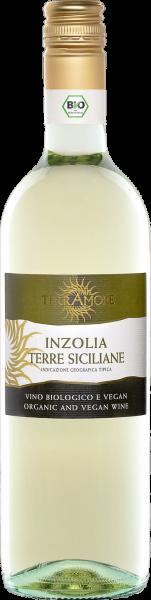 Bio-Inzolia Terre Siciliane IGT TerrAmore Sizilien Weißwein trocken