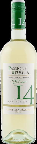 Passione di Puglia BIO Bianco IGT 14 Contessa Marina Weißwein Apulien