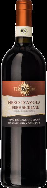 Bio-Nero d´Avola Sicilia DOC TerrAmore Sizilien Rotwein trocken